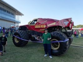 Monster Jam Adelaide 2014: Iron Man 04 by lizardman22