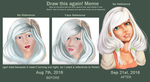 1.5 Month Improvement Meme by PasitheeArt