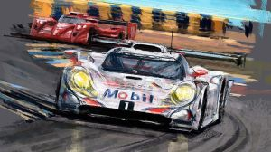 1998 Porsche LM26 car headlights by Rizov