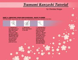 Kanzashi Tutorial - Part 4 by Kurokami-Kanzashi