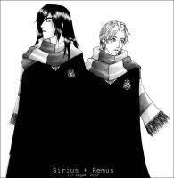 Winter - Sirius and Remus by mirime