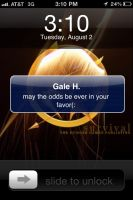 Gale texted Katniss by 1000maddy