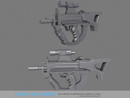 Concept SMG - Central Conflict by LoGGeR