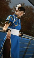 Chun-li cosplay by flashlight-queen