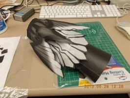 Ankh's Hand Papercraft (in progress) by DraikenTalkos