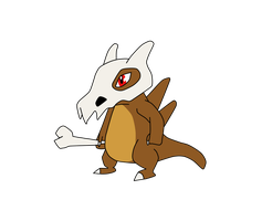 Cubone by TheSaure55