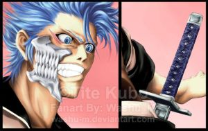 Grimmjow details WIP by Washu-M