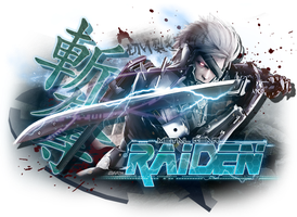 Raiden ... the rain transformed. by YumeNoAnima