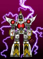 White Griffon Zord by blueliberty