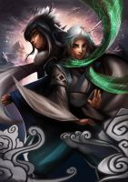 Xuan Long and Qi Rui (Contest entry) by BoFeng