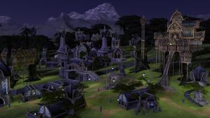 Elven camp by chakotay02