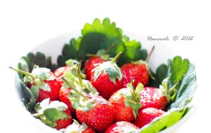 Day 002 Project 366 - Strawberry Temptations by Hanooali
