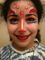 Cirque Inspired Makeup (Kooza) by deadpool24