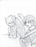 Twilight Princess Sketch by Leapoffaith4
