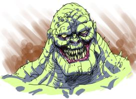Killer Croc by GuidoGuidi