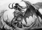 Illidan Stormrage by HuseyinKaraca