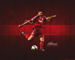 Xabi Alonso by lfcmarc