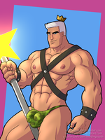 Jorgon Von Strangle by headingsouth