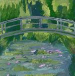 the water-lily pond by Diphallia