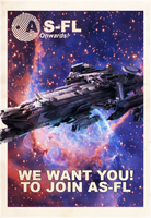 AS-FL Recruitment Poster, Idris by KaeKru