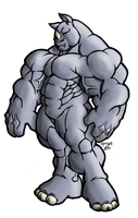 Buff Rhino by tkc2021 by gogui
