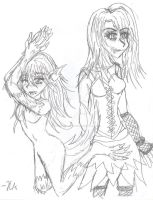 Two sides of Darkness by Vampiress-Stocking
