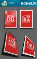 FREE DOWNLOAD Frame Mock Up PSD by DesignersBestFriend