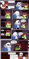 Undertale comic: Reforming Chara by MidnightSketches