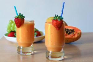 Papaya Smoothie by FlabnBone