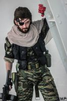 Metal Gear Solid V - Punished Snake cosplay #1 by Petchy-mon