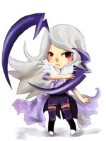 Commission Moemon Absol by SuiginTwo