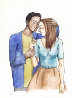 Abed and Annie by liltrix7