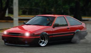 AE86 by LavnebDesigns