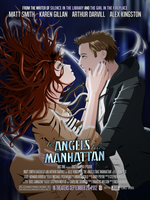 'The Angels Take Manhattan' Poster by omegaprime