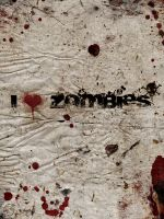 I Heart Zombies Poster by SPikEtheSWeDe