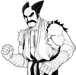 Heihachi (Line Drawing) by ExMile