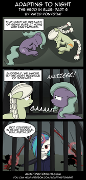 AtN: The Hero In Blue -  Part 6 by Rated-R-PonyStar