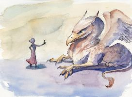 Stasya and the Gryphon - Chapter 1 by CCampbellArt