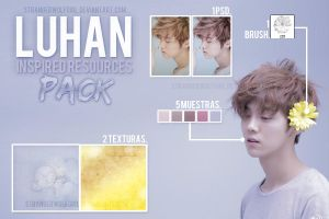 +RESOURCES PACK {Inspired in Luhan} by StrangerWolfGirl