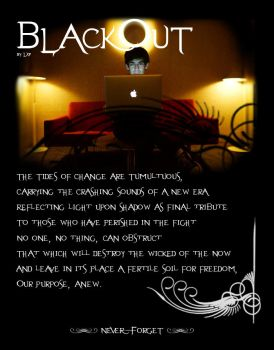 Aaron Swartz' Blackout - a poem by LxP by Arkbg