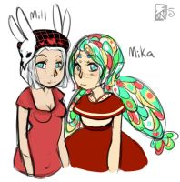 Human Girls by Kinla
