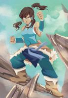 Legend of Korra by GAN-91003