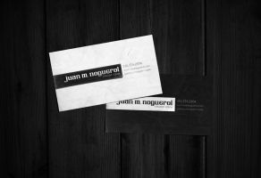 Juan Noguerol Business Card by juannoguerol
