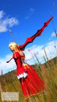 Cosplay - Saber Nero II by Fylgjur