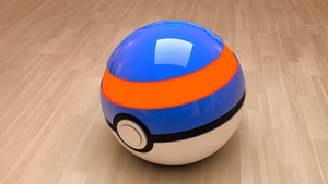 Pokeball - Wallpaper by Okusu