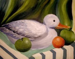 Duck Still-Life by Milkys