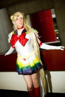 Battle Weary Sailor Moon DI by Reipoker
