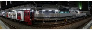 Hakata Station Pano by dragonslayero
