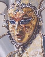 Venetian Memories-detail Oils by AstridBruning