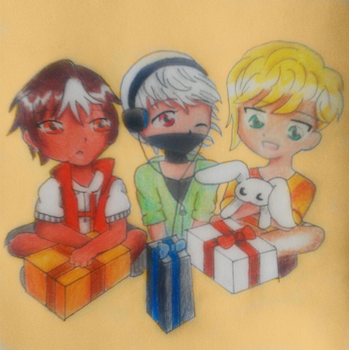 It's a Chibi Christmas! by SuperHypnoticLove